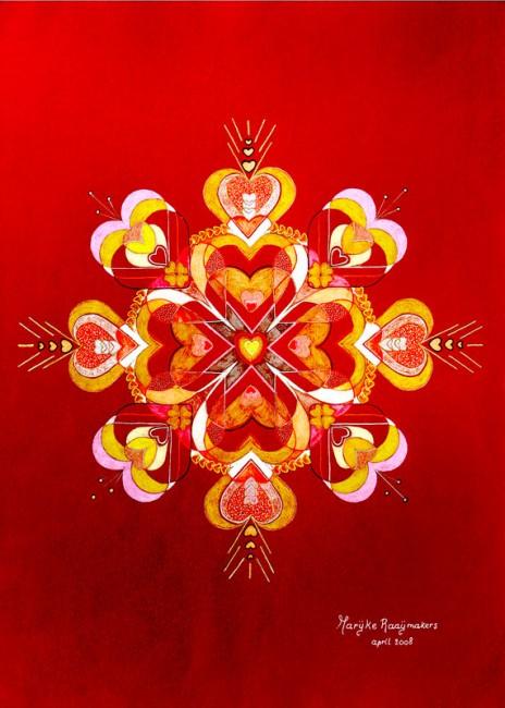 La fleure d`amour